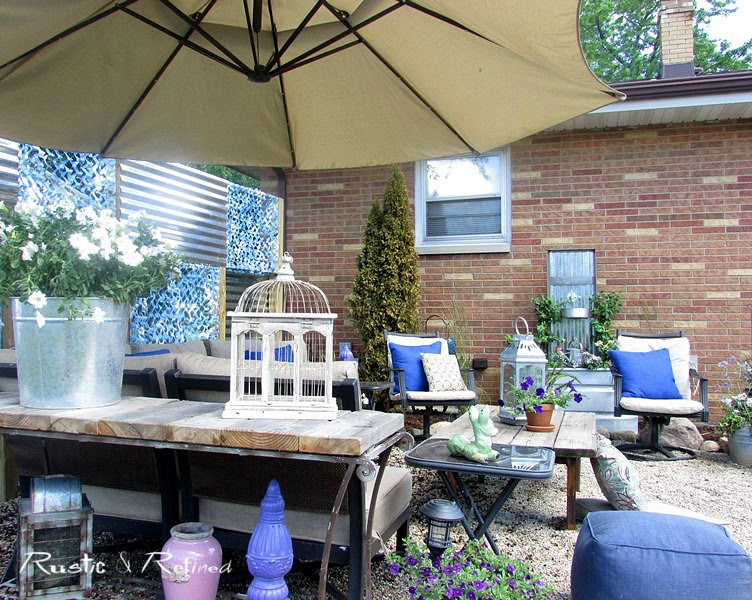 Backyard Patio on a Budget