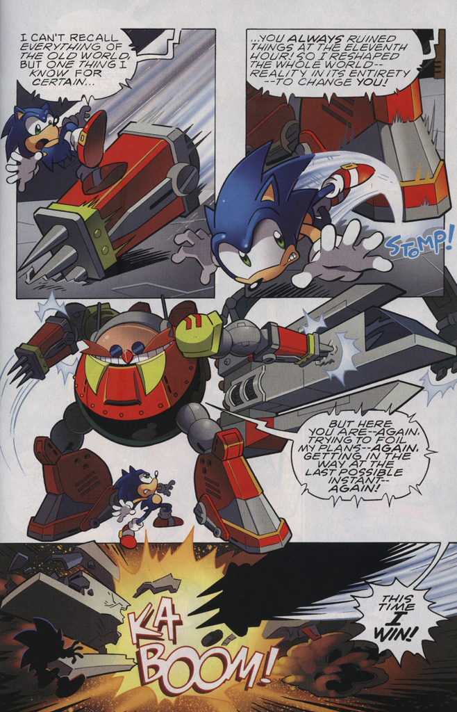 Read online Sonic The Hedgehog comic -  Issue #229 - 23