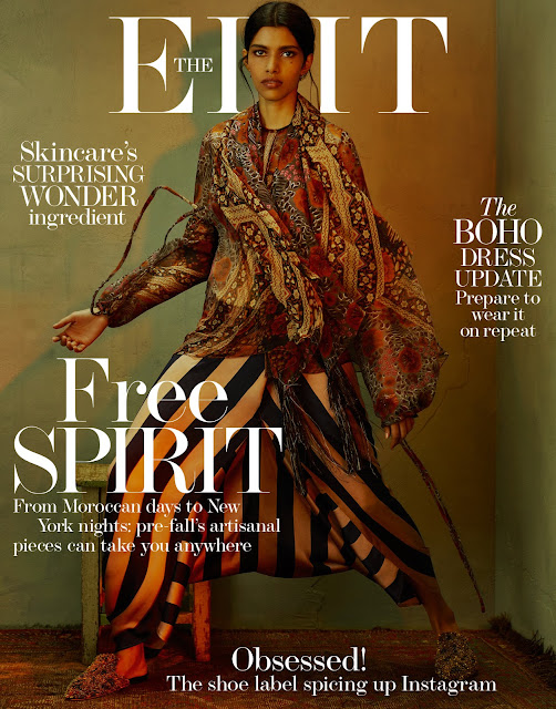 Fashion Model, @ Pooja Mor - The Edit Magazine July 2016