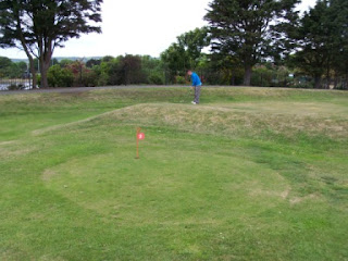 Pitch and Putt course in Princes Park, Eastbourne