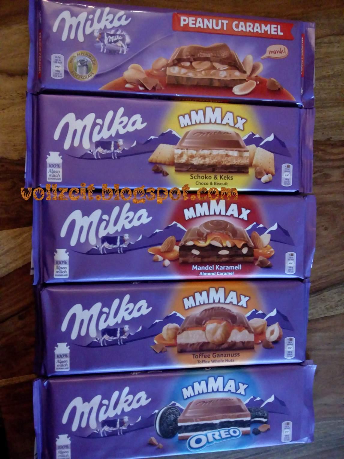 Milka Erdnuss Karamell