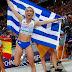 Βερολινο 2018:Tρίτο χρυσό μετάλλιο για την Ελλάδα αυτή την φορά στο τριπλούν με την Βούλα Παπαχρίστου. (VIDEO)