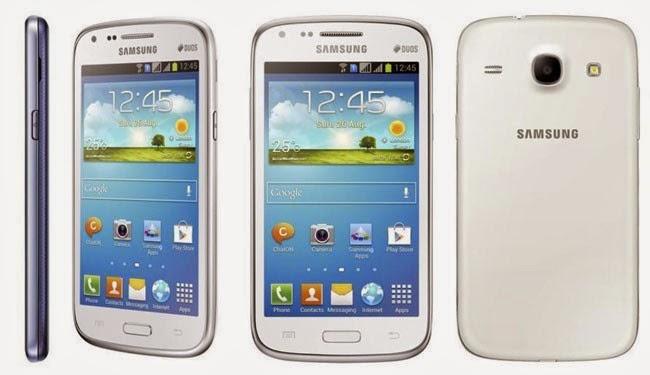 Harga dan Spesifikasi HP Samsung Galaxy Core I8262 Terbaru