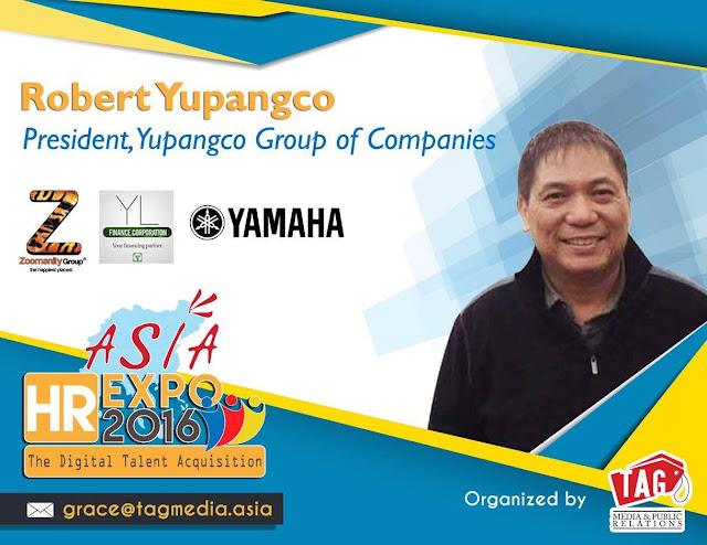 Asia HR Expo 2016 presents Robert Laurel Yupangco