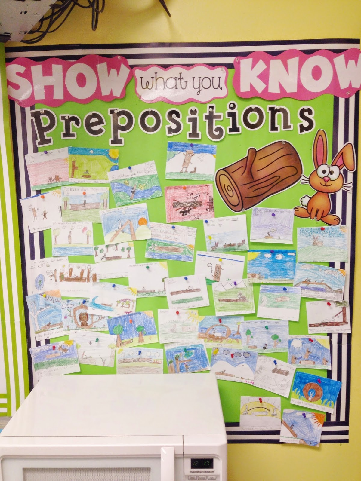 Prepositions With The Rabbit And The Log C Jayne Giveaway Winner
