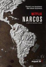 "Carátula del DVD: ""Narcos"""