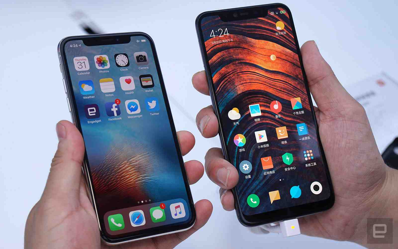 The Xiaomi Mi 8 Explorer Vs The Apple iPhone X