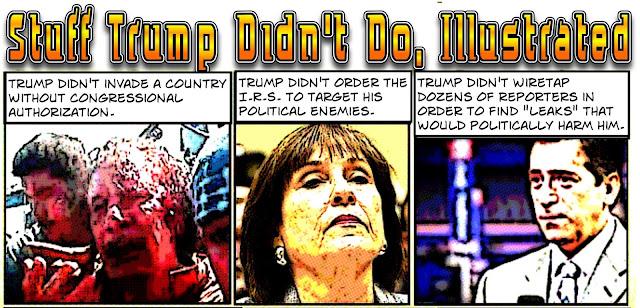 Stuff Trump Didn't Do, Illustrated