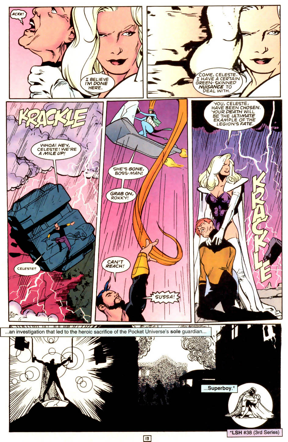 Legion of Super-Heroes (1989) 53 Page 13