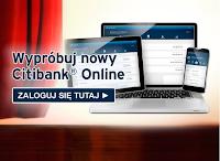 Citibank - Przelew za bankowanie na smartfonie