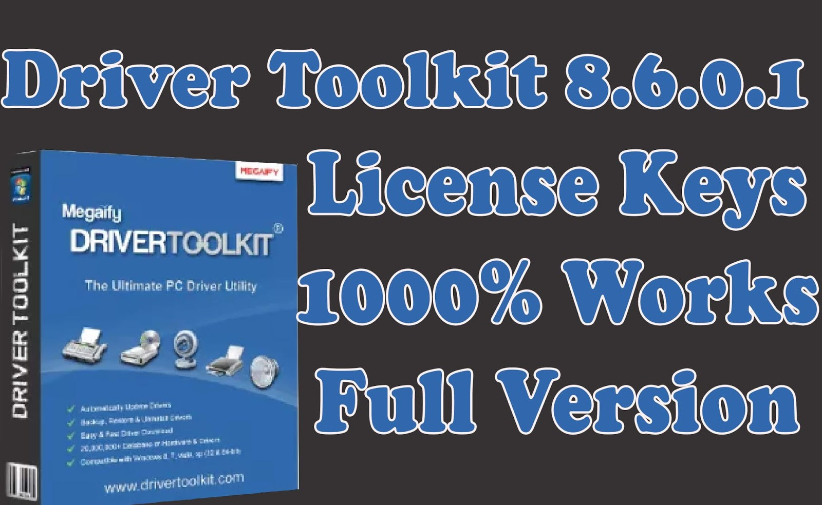 download driver toolkit license key