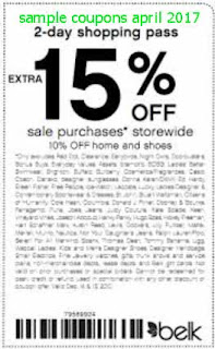 Belk coupons april