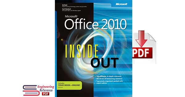 Microsoft Office 2010 Inside Out 1st edition by Carl Siechert, Ed Bott