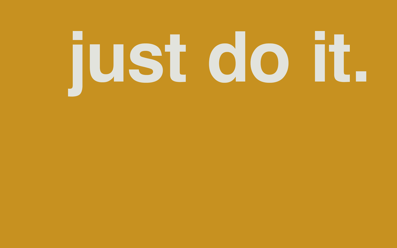 just do it. Black Bedroom Furniture Sets. Home Design Ideas