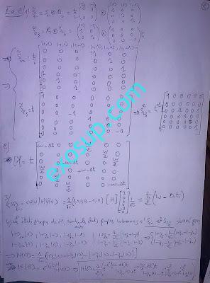 contrôles corrigés Physique Quantique smp s5 examens