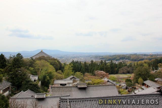 Vistas desde Nigatsu-dō