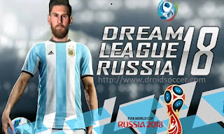 DLS Mod WorldCup Rusia 2018 Apk + Data Obb