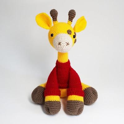 Жираф игрушка амигуруми
