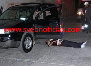 Sicarios acribillan a hombre en Penjamo Guanajuato
