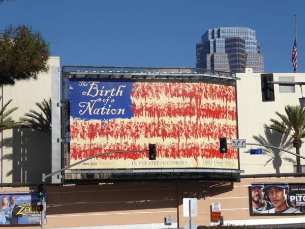 Birth of a Nation movie billboard