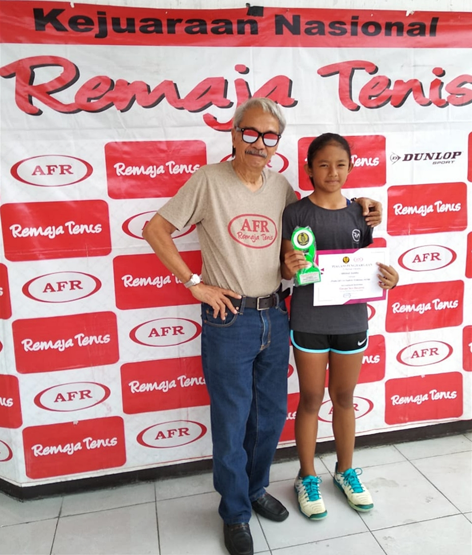 RemajaTenis Bandung: Tuan Rumah Borong 3 Gelar Juara