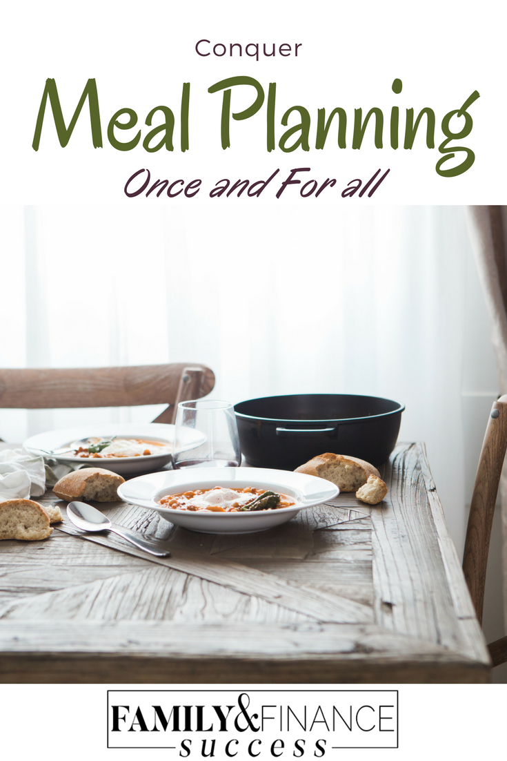Conquer Meal Planning with Monthly Meal Planning