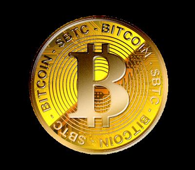 仮想通貨ビットコインのフリー素材(金貨ver)