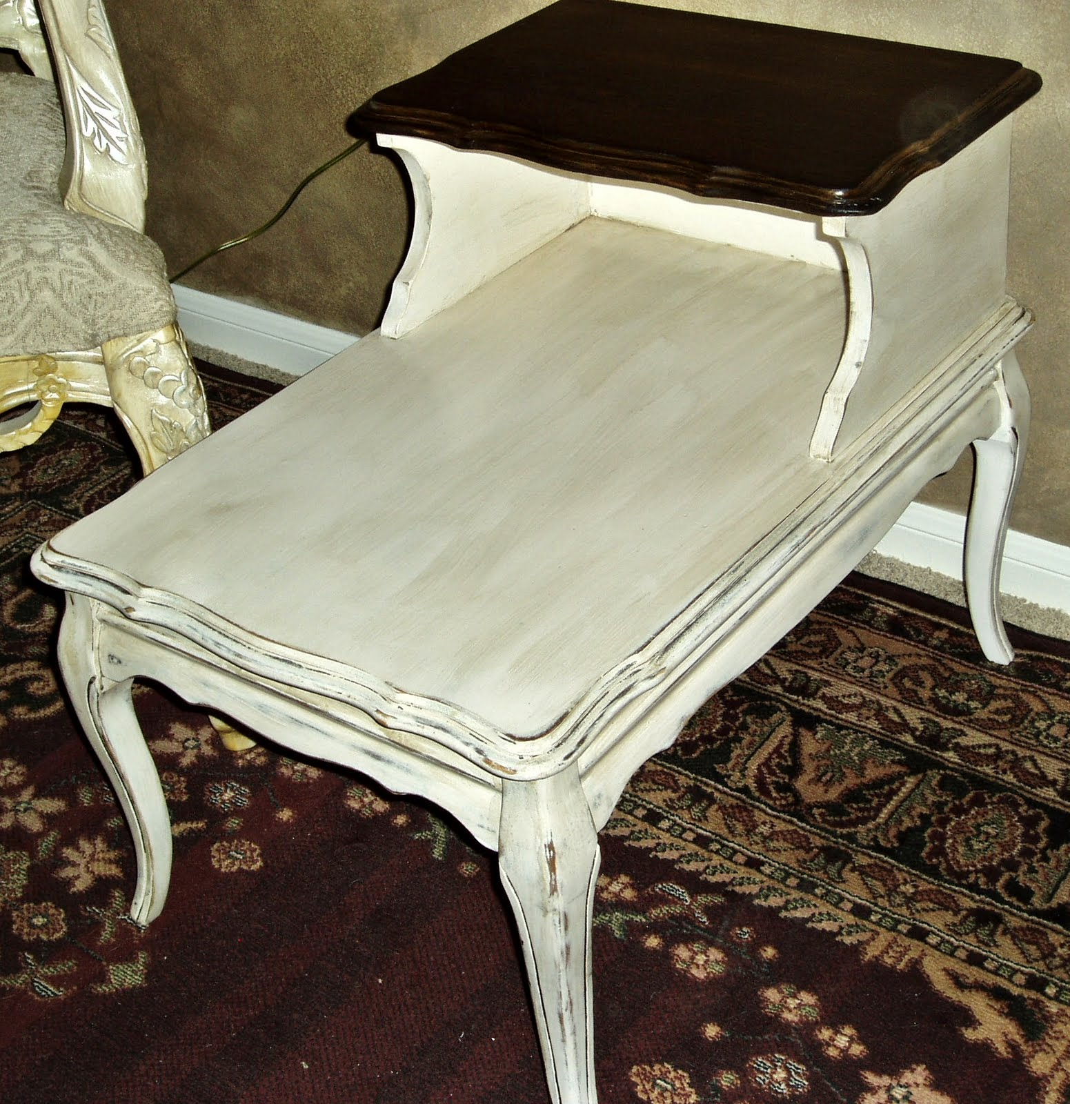 Faux Painting + Furniture: Vintage French-Country Cream
