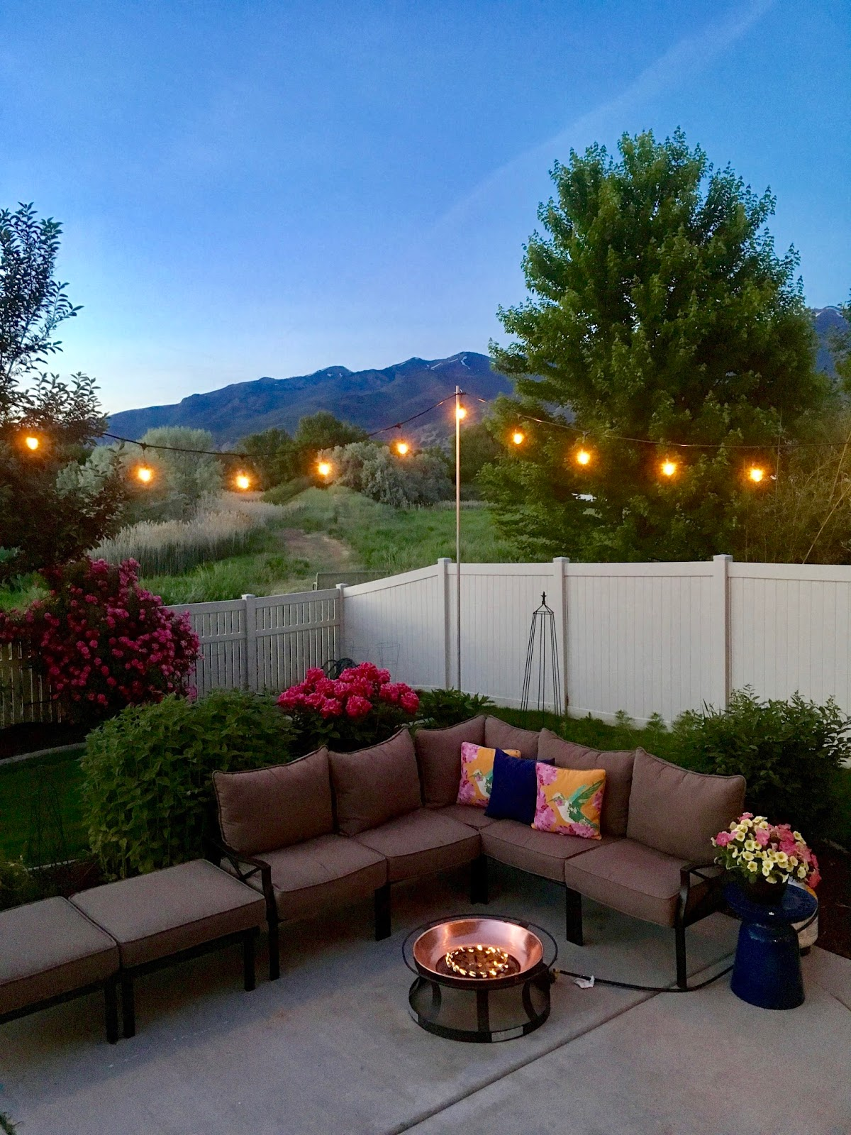 Restlessrisa Outdoor Yard Lights For Under - Out on the patio