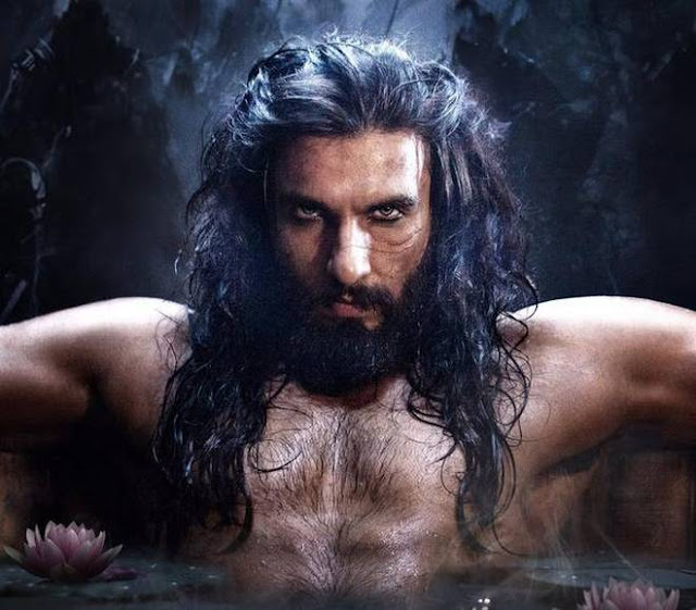 Ranveer Singh in bollywood movie Padmavati