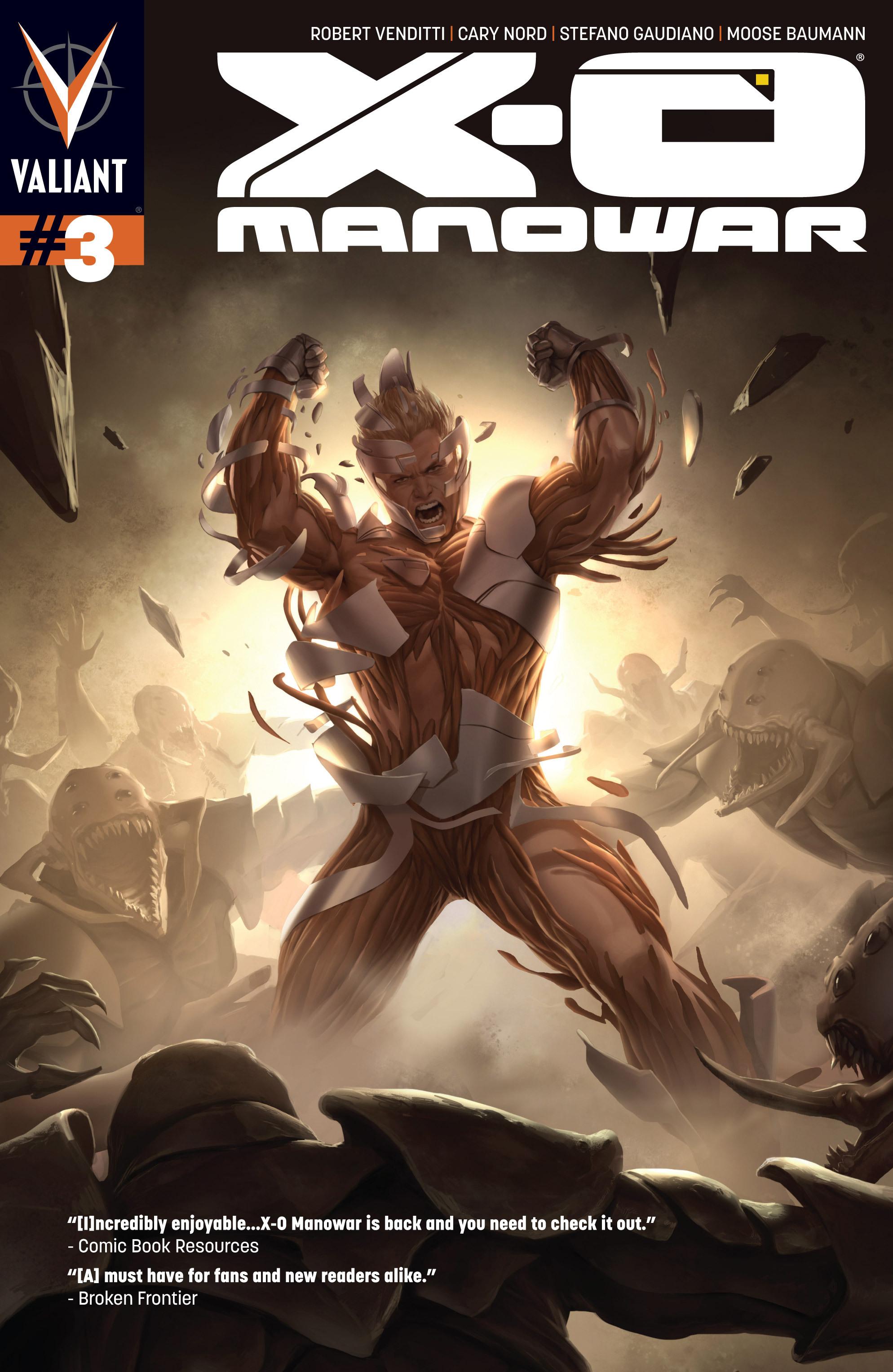 X-O Manowar (2012) 3 Page 1
