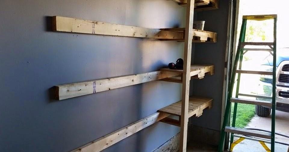 The Haphazard Prepper Pallet Projects Garage Shelves