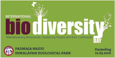 International Biodiversity Day in Padmaja Naidu Himalayan Zoological Park, Darjeeling