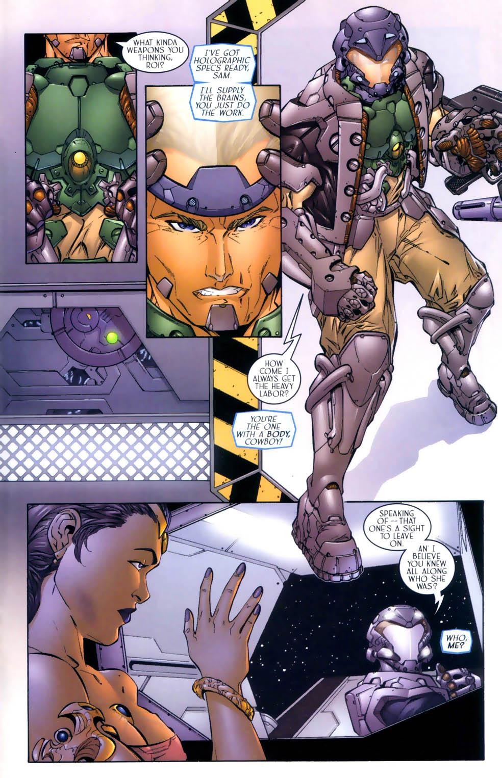 Read online Sigil (2000) comic -  Issue #3 - 16