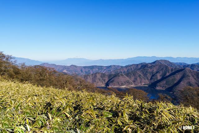 八ヶ岳や奥秩父連峰の景色~竜ヶ岳