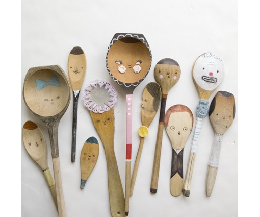 Dishfunctional designs wooden spoon crafts for Wooden spoons for crafts