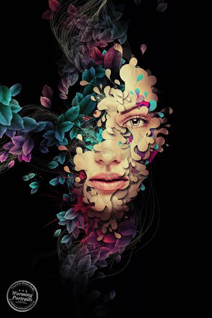 Photoshop Portrait Digital Art