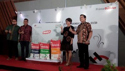 Produk Andalan Holcim Mortar Rambah Kota Mojokerto