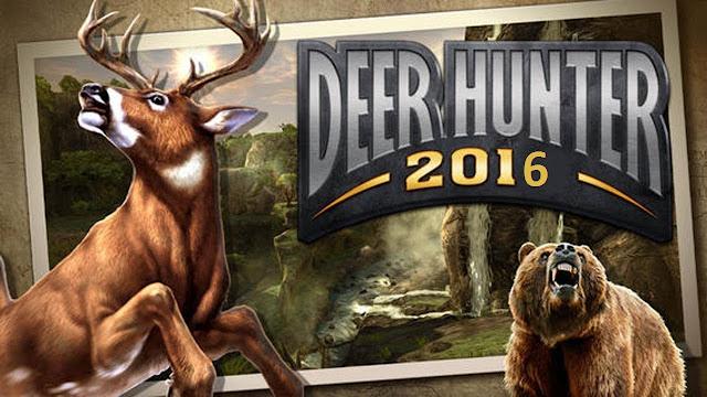 تحميل لعبة Deer Hunter 2016 v3.0.3 مهكرة للاندرويد (اخر اصدار)