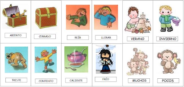 Escuela bloguera tema 3 lengua los ant nimos for Contemporanea sinonimo