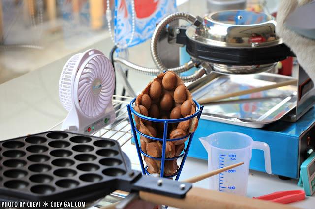 IMG 0299 - 一中商圈│藍箱處Blue Box-分子冰淇淋雞蛋仔*少女心的清爽夢幻逸品。隱身在巷弄間的IG打卡新景點