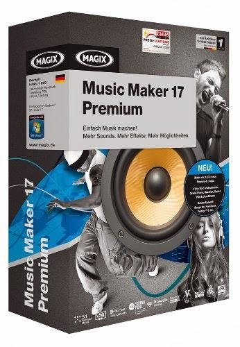 magix music maker 17 premium free download full version