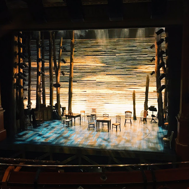 view of stage at come from away