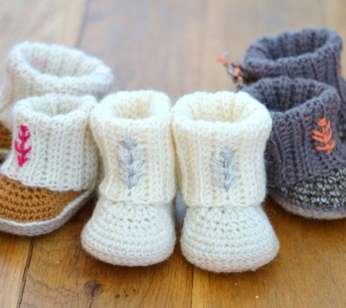 Crochet Ugg Boots Pattern