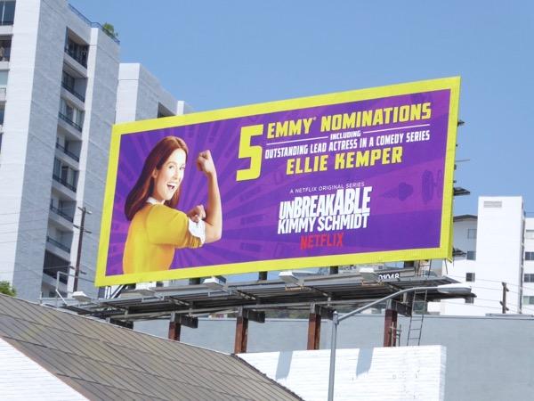 Ellie Kemper Kimmy Schmidt 2017 Emmy nom billboard