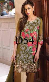 Charizma Luxury Eid Chiffon Collection 2016/2017 with Price Vol-7