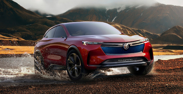 The Buick Enspire concept is a 557 hp electric SUV crammed with technology and debuts in China
