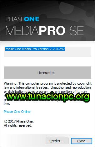 Phase One Media Pro SE Final Creador de Catalogos Fotograficos