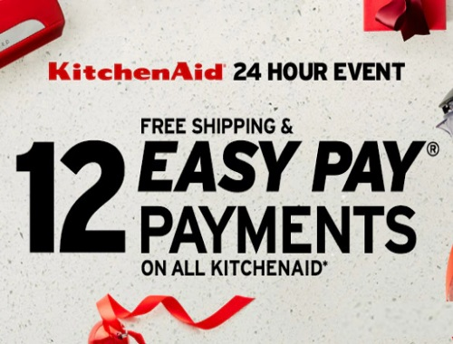 The Shopping Channel KitchenAid 24 Hour Event