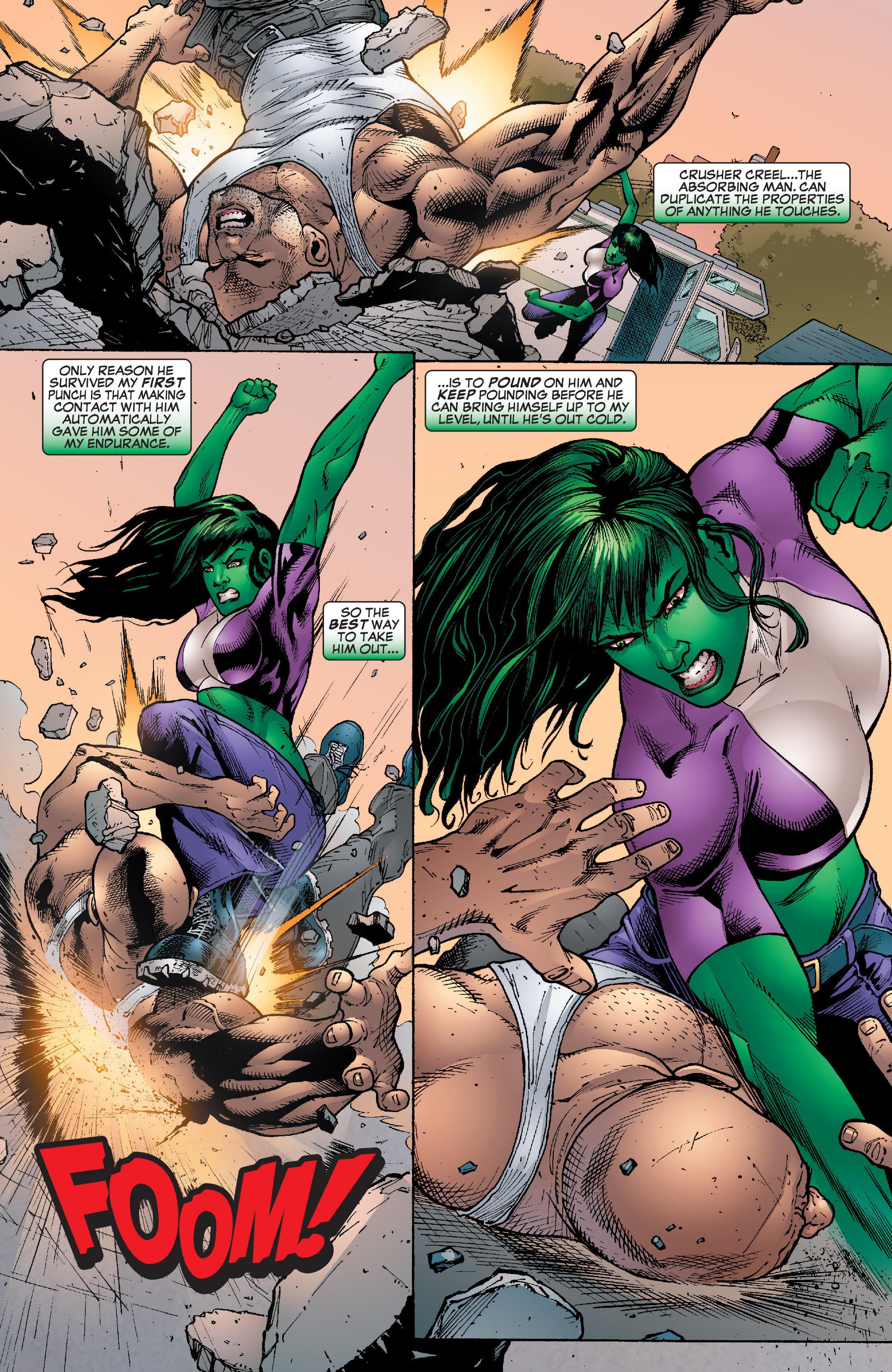 Read online She-Hulk (2005) comic -  Issue #22 - 18